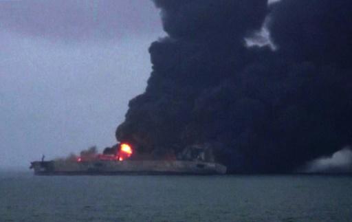 Collision entre un pétrolier iranien et un vraquier chinois