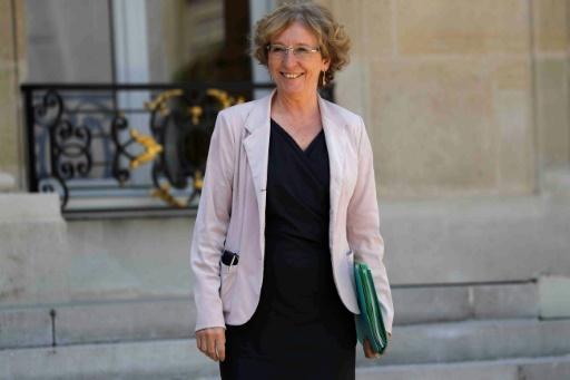 Muriel Penicaud le 14 juin à la sortie de l'Elysée
