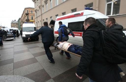 Après l'explosion dans le métro, Saint-Pétersbourg en deuil — Russie