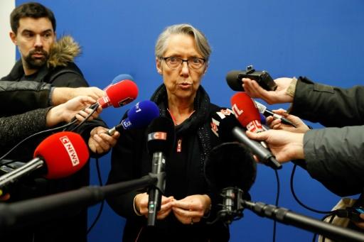 La ministre des Transports Elisabeth Borne le 6 décembre 2018 à Paris