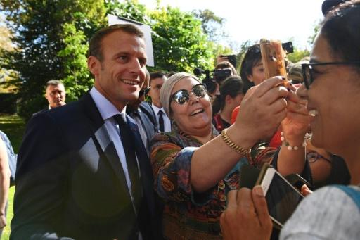 Emmanuel Macron invite un chômeur à